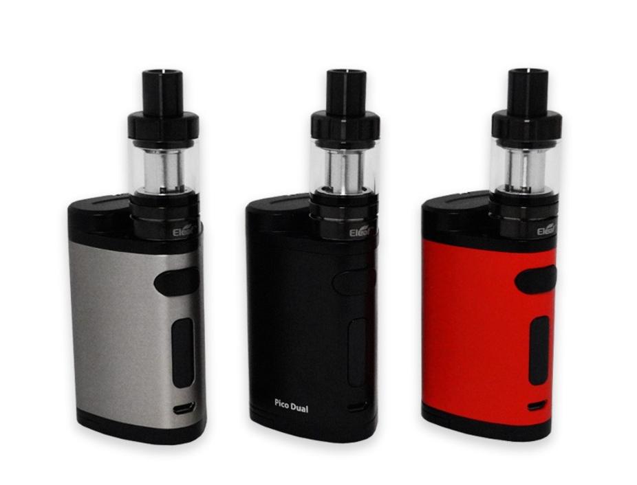 Eleaf Pico Dual E-cig Kit and E-liquid