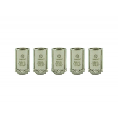 BF NotchCoil – 0.25ohm Atomizer Heads x 5